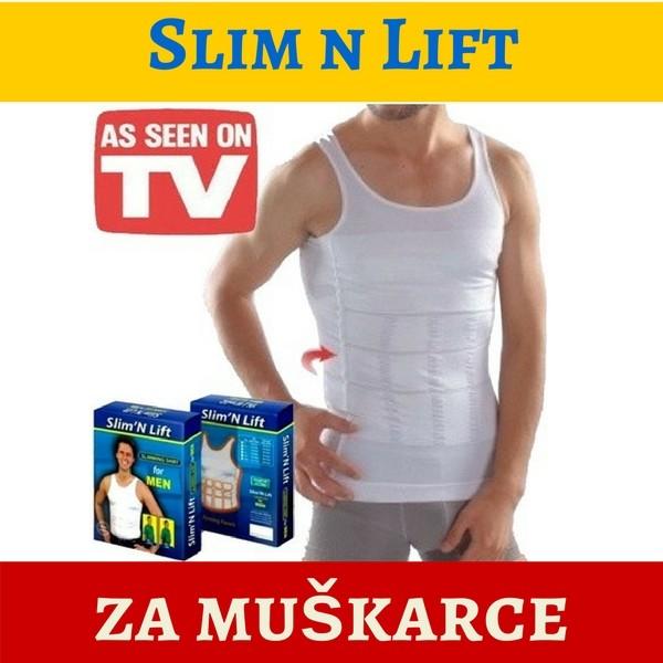 Slim n Lift - Super steznik/majica za mršavljenje za muškarce
