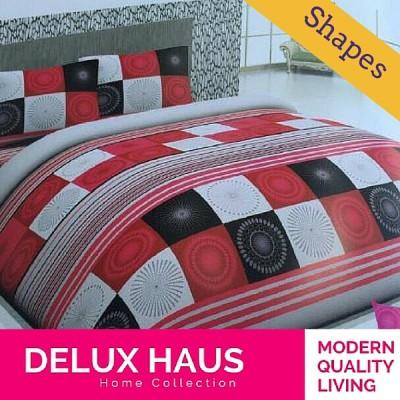 Slika od Shapes dupla bračna posteljina