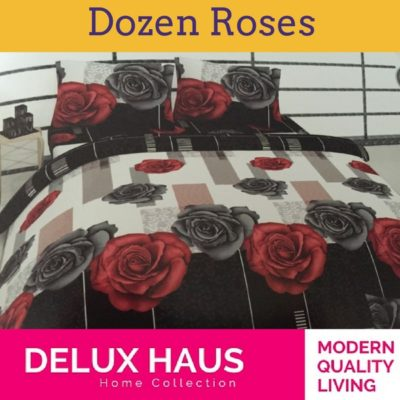 """Bračna posteljina """"Dozen Roses"""" - 100% Ranforce pamuk!"""