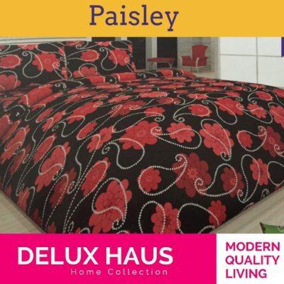 """Bračna posteljina """"Paisley"""" - 100% Ranforce pamuk!"""