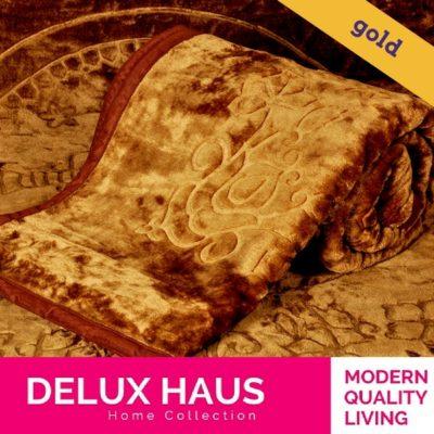 Gold ćebe - 160x220cm - lako, meko i toplo ćebe