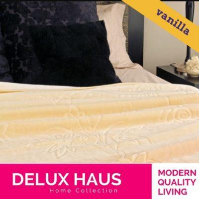Vanilla ćebe - 160x220cm - lako, meko i toplo ćebe