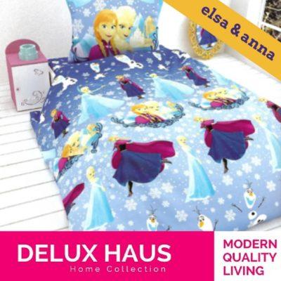 """Dečja posteljina """"Elsa & Anna"""""""