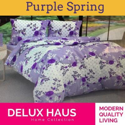 """Bračna posteljina """"Purple Spring"""""""