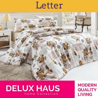 """Bračna posteljina """"Letter"""""""