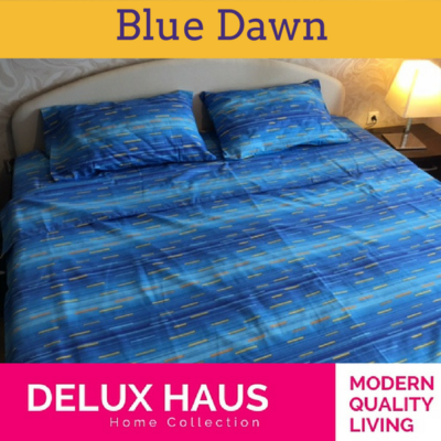 """Bračna posteljina """"Blue Dawn"""""""