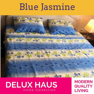 """Bračna posteljina """"Blue Jasmine"""""""