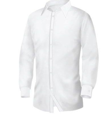 Bianco by Giovanni - strukirana bela muška košulja