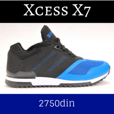Xcess patike X7 crno plave