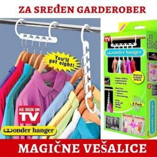 Wonder Hanger - Magične Vešalice - Organizator odeće
