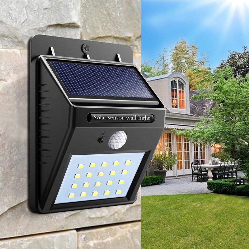 Solarni Led Reflektor Sa Pir Senzorom 20 Dioda Etrg Net