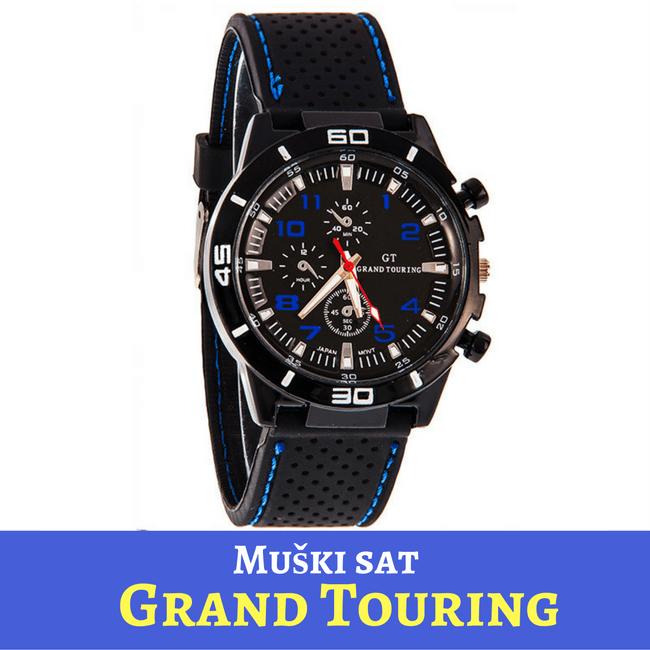 Grand Touring Sat Plavo-Crni