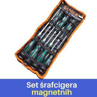 Kanier - Komplet šrafcigera (magnetni)