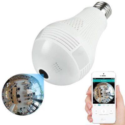 Sijalica Spy WIFI kamera