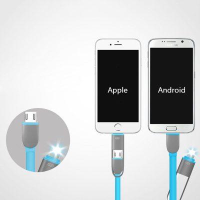 2 u 1 USB Kabl za iPhone i Android