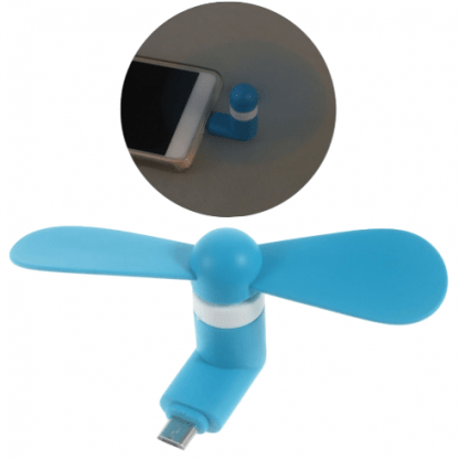 Mini Ventilator za mobilni telefon - 2 za 550din!