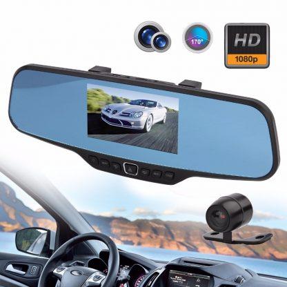 Retrovizor Auto DVR parking kamera i crna kutija