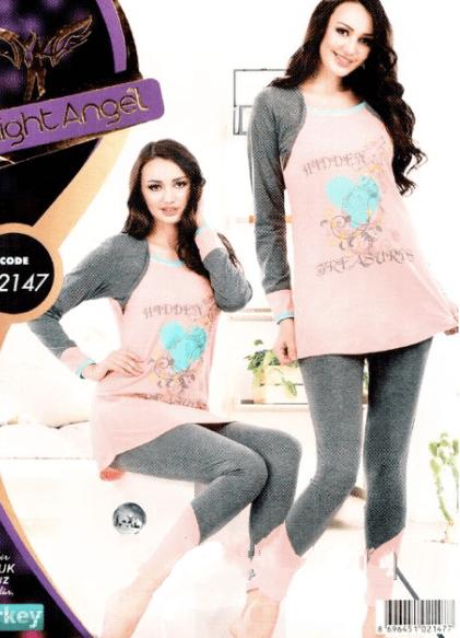 Ženske pidžame - Night Angel 02174