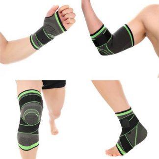 Steznici za koleno, butinu, skočni zglob, šaku, list