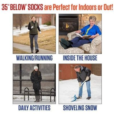 Below 35 - Čarape za cirkulaciju