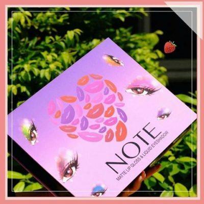 NOTE - Tečni mat ruževi i senke za oči