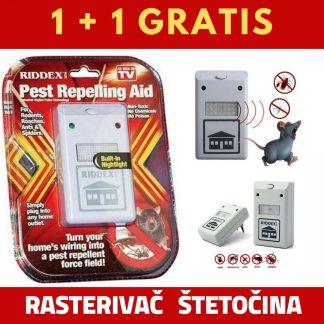 Riddex rasterivac stetocina 1+1 gratis