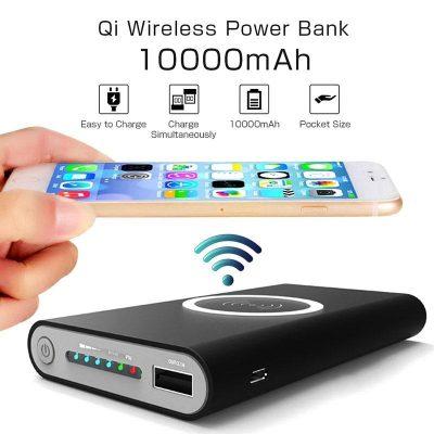 Qi Bežični Powerbank 10000mAh