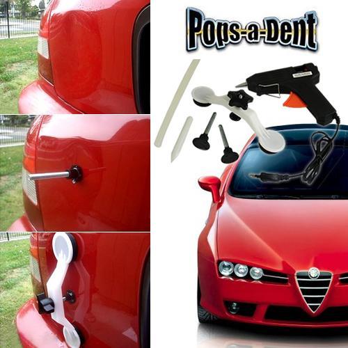 Pops-a-dent - Set za ispravljanje udubljenja na automobilu