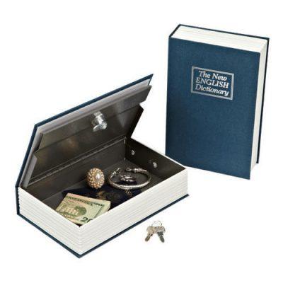 Knjiga-sef za čuvanje novca i nakita