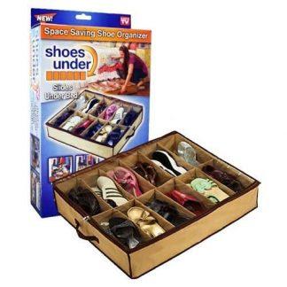 Shoes Under - Prenosivi organizer za odlaganje 12 pari obuće