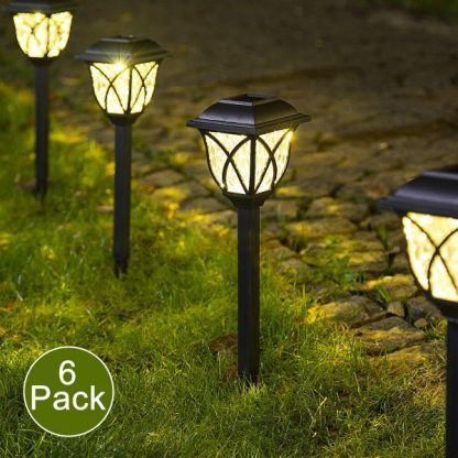 Solarne baštenske lampe - 6 komada