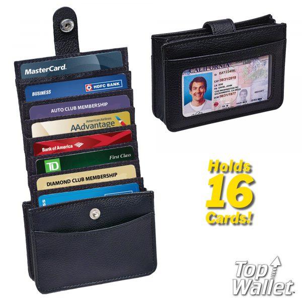 Top Wallet - Vertikalni novčanik