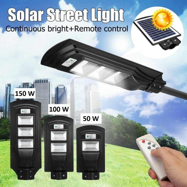 Solarni ulični reflektor sa daljinskim upravljačem