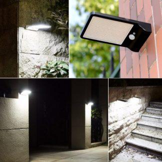 Solarno LED zidno svetlo sa senzorom pokreta