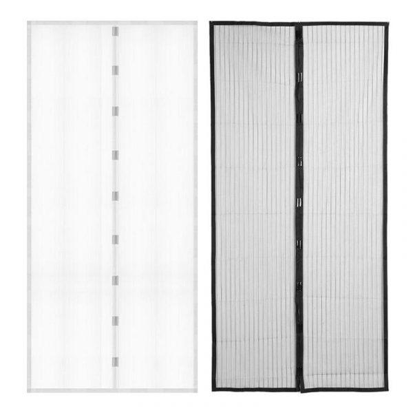 Magnetna zavesa protiv insekata - Crna ili bela