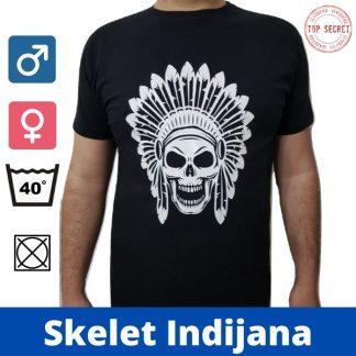Majica - Skelet Indijana