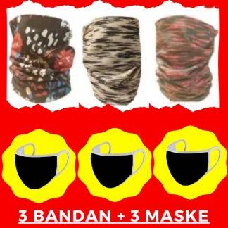 3 bandan 3 maske