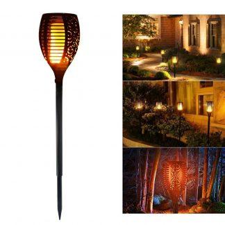 Solarna baštenska lampa/baklja