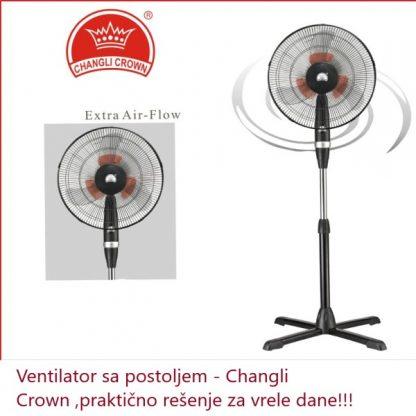 Ventilator sa postoljem -