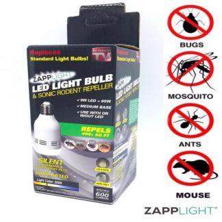 Zapplight Repelentna sijalica protiv Zaštitite se od glodara, komaraca, mušica i ostalih insekata pomoću ovog aparata