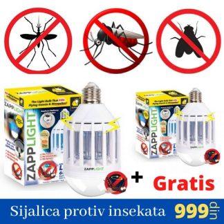 Zapplight – Sijalica protiv insekata (Kupi 1 dobij 1 gratis)