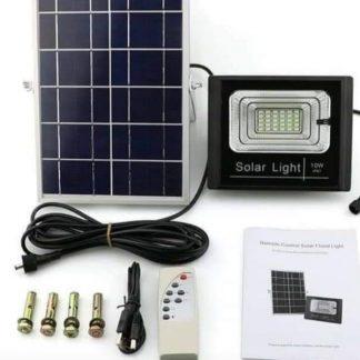 Solarni reflektor sa displejem i daljinskim upravljačem