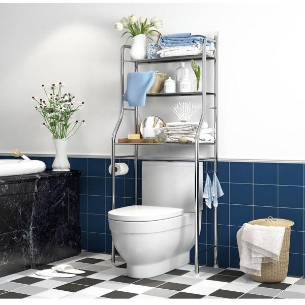 Metalni stalak za kupatilo