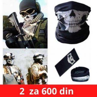 Bandan maska-Skelet bandan marama