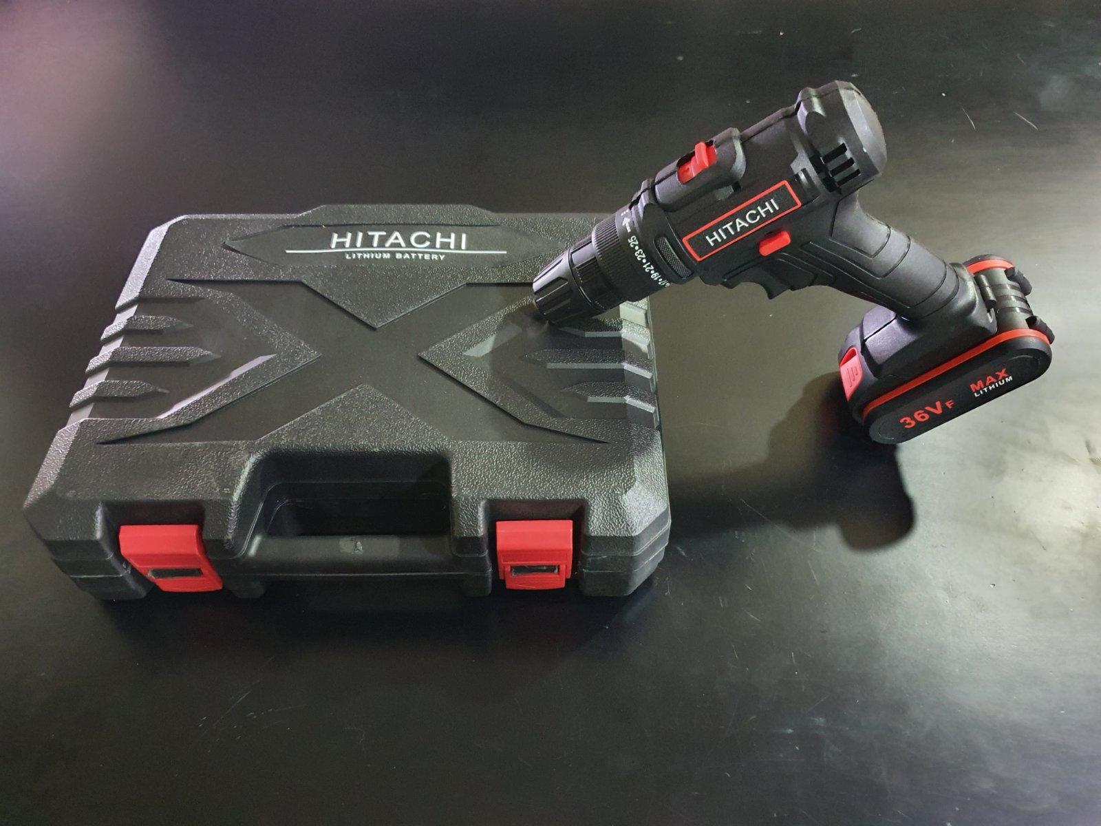 Hitachi aku srafilica busilica 36V