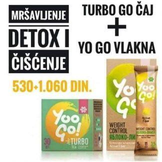 TURBO Čaj + Napitak Yoo Go Kontrola težine